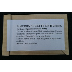 Poivron Sucette de Hyères